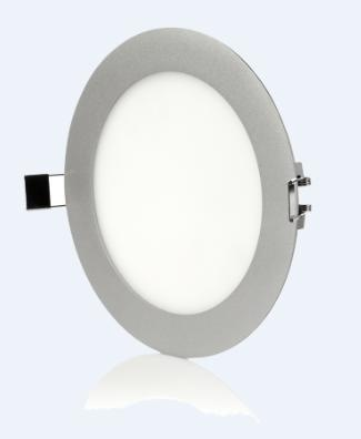 14W 1000LM 120degree 100-240VAC 240mm*18.5mm Round LED Panel Light warmwhite coldwhite